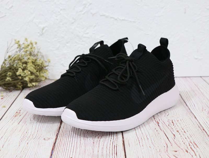 f173abdbe046 ... norway 2018 official unisex nike roshe two flyknit v2 918263 002  sneakers core black white 1c1f1