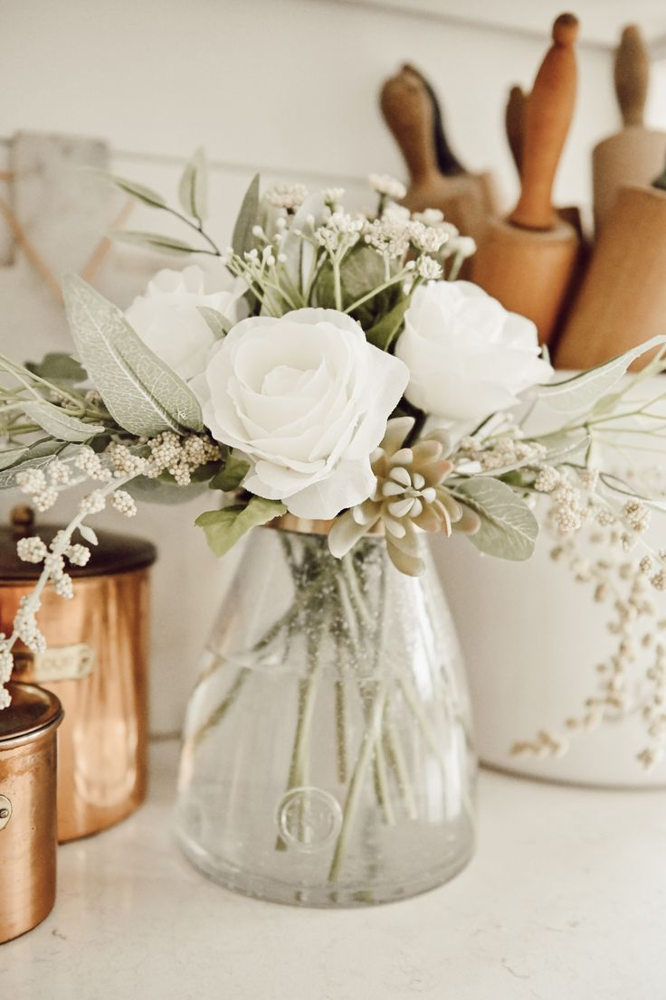 The Easiest Trick For Fool Proof Faux Floral Arranging