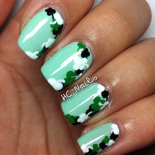 St.Patrick\'s day nails | Nails and Nail Polish | Pinterest | Nail ...