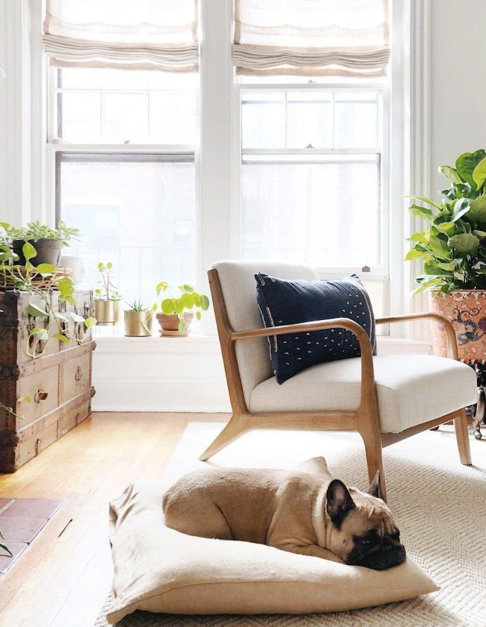 Take a Peek Into This Designer's Organic, Eclectic Home is part of Eclectic Living Room Rug - This New England home is the perfect mix of organic, eclectic and modern