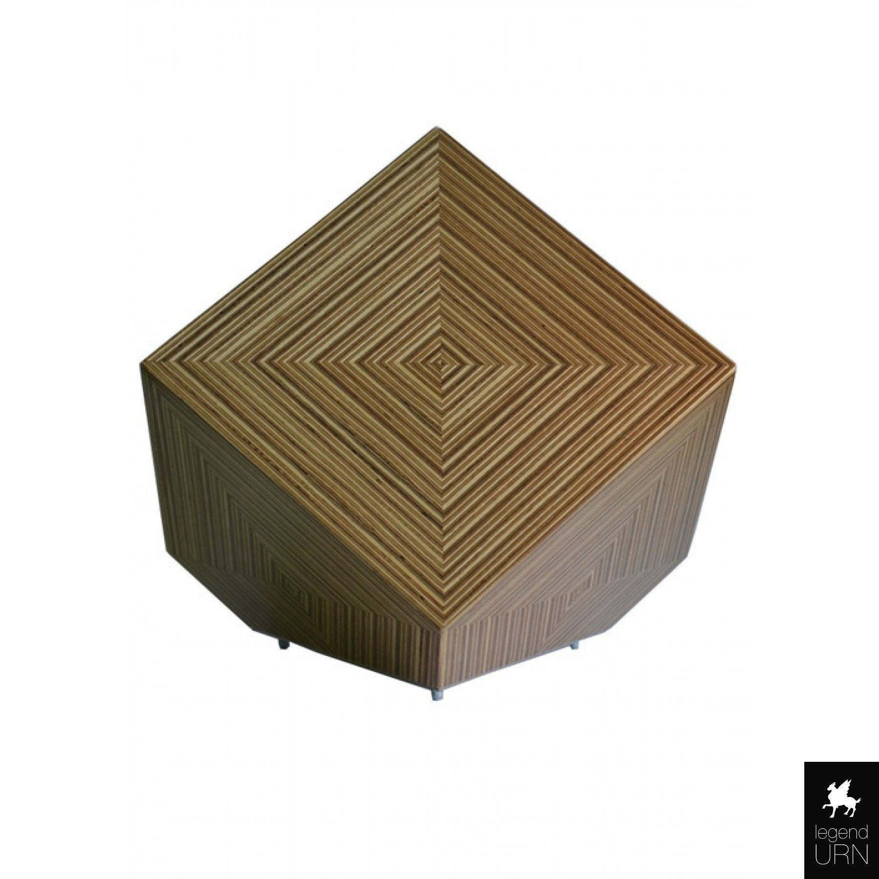 Veneer wood funeral urn legendURN UK funeral urns