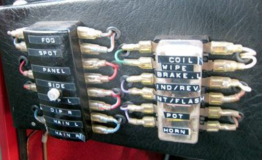 CRX 90 B Fuse box Mini, Auction, Classic