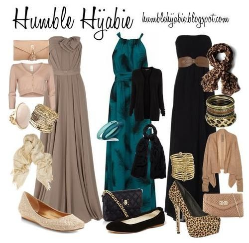 Evening outfits - Hijab styles *possible graduation outfit ...