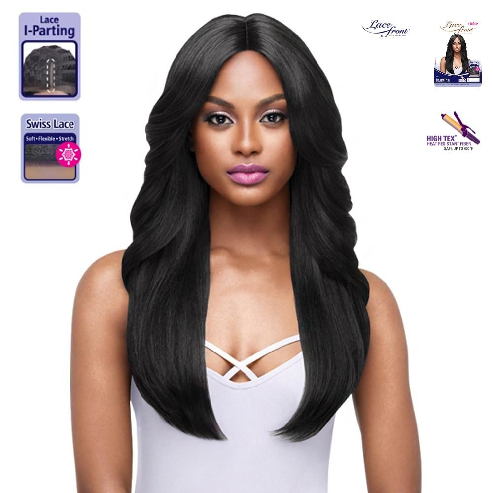 OUTRE SYNTHETIC IPART SWISS LACE FRONT WIG JASMINE