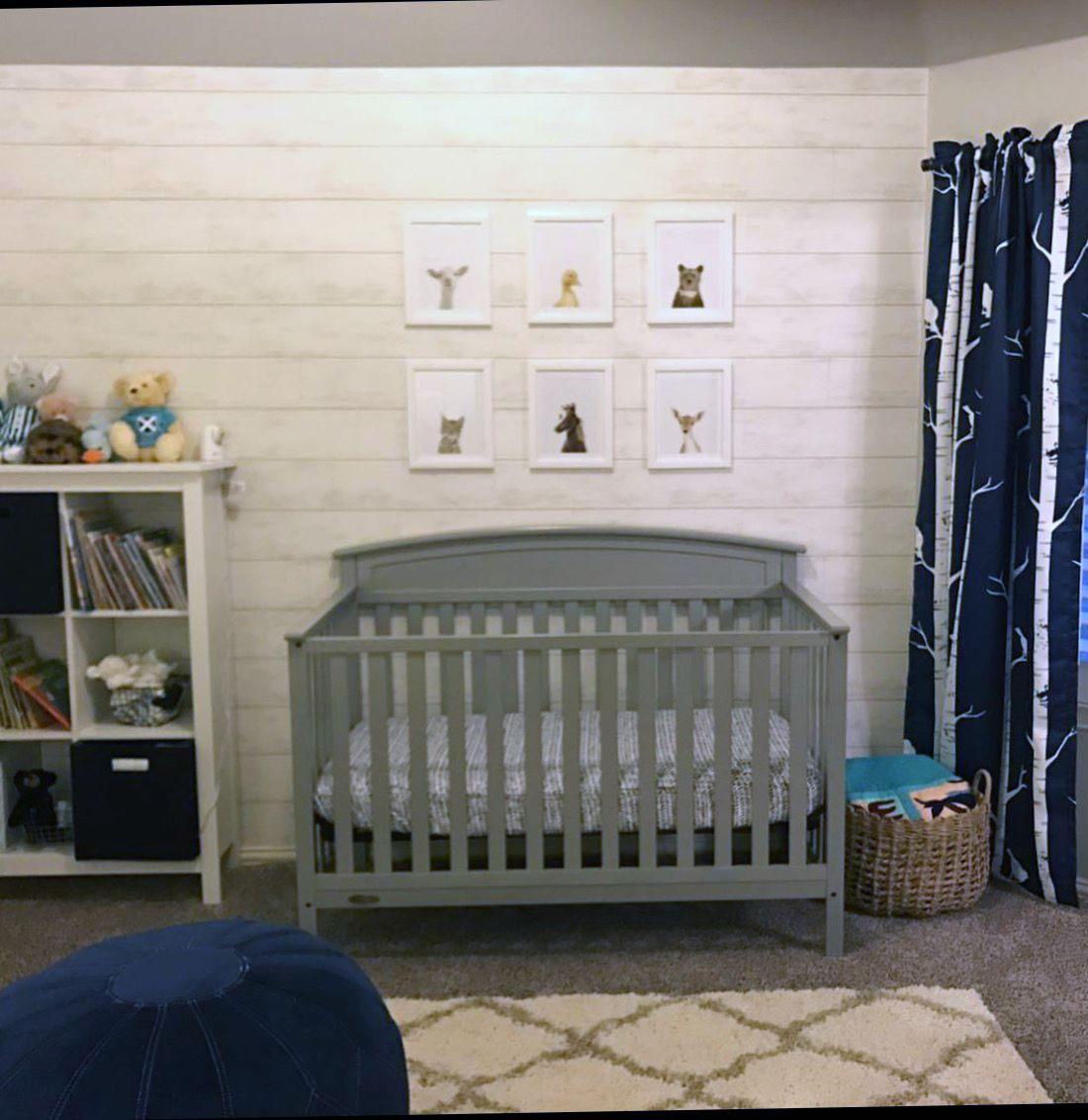 Happy Customer Shared Their Nursery With Accent Wall Of