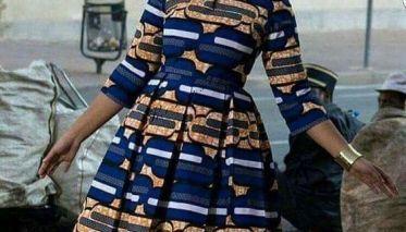 Top 20+ Kitenge fashion short dresses 2019 - Reny styles #nigeriandressstyles