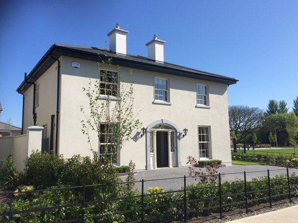 Mid-1800s Georgian country house in County Carlow.   Dream Homes ...