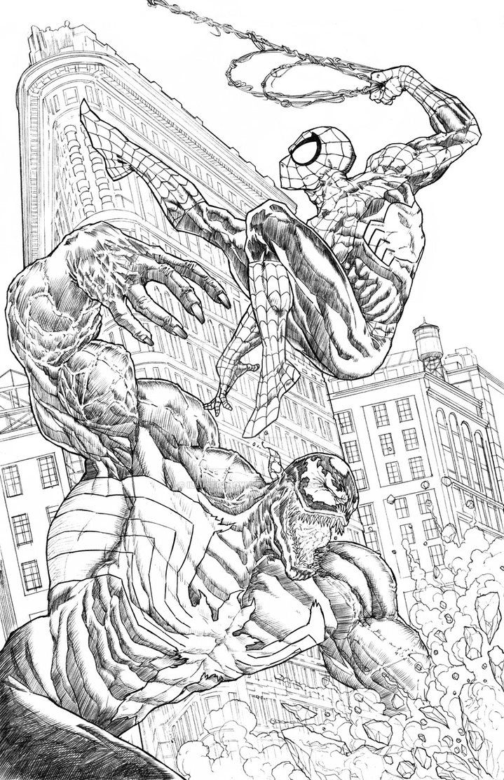 d17c7a0019189f39b011ff32f6f19022 » Venom And Spiderman Coloring Pages