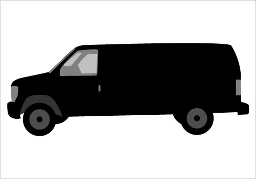 Mini Van Silhouette Clip Art Silhouette