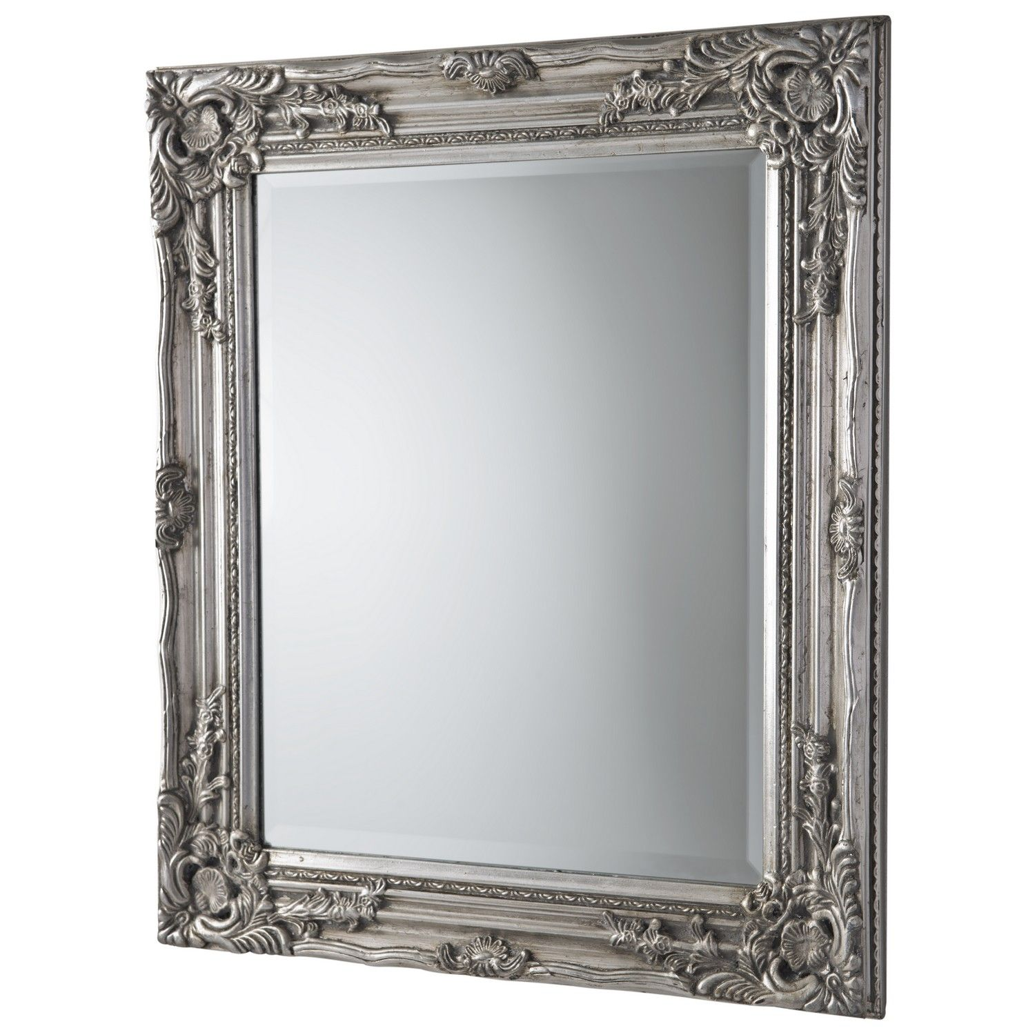Buy Silver Antique Ornate Mirror Mirrors The Range Cloakroom