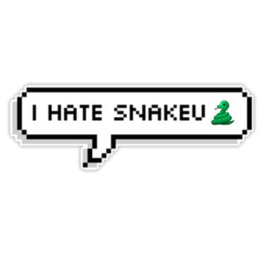 Bts jhope i hate snakeu sticker by minpop