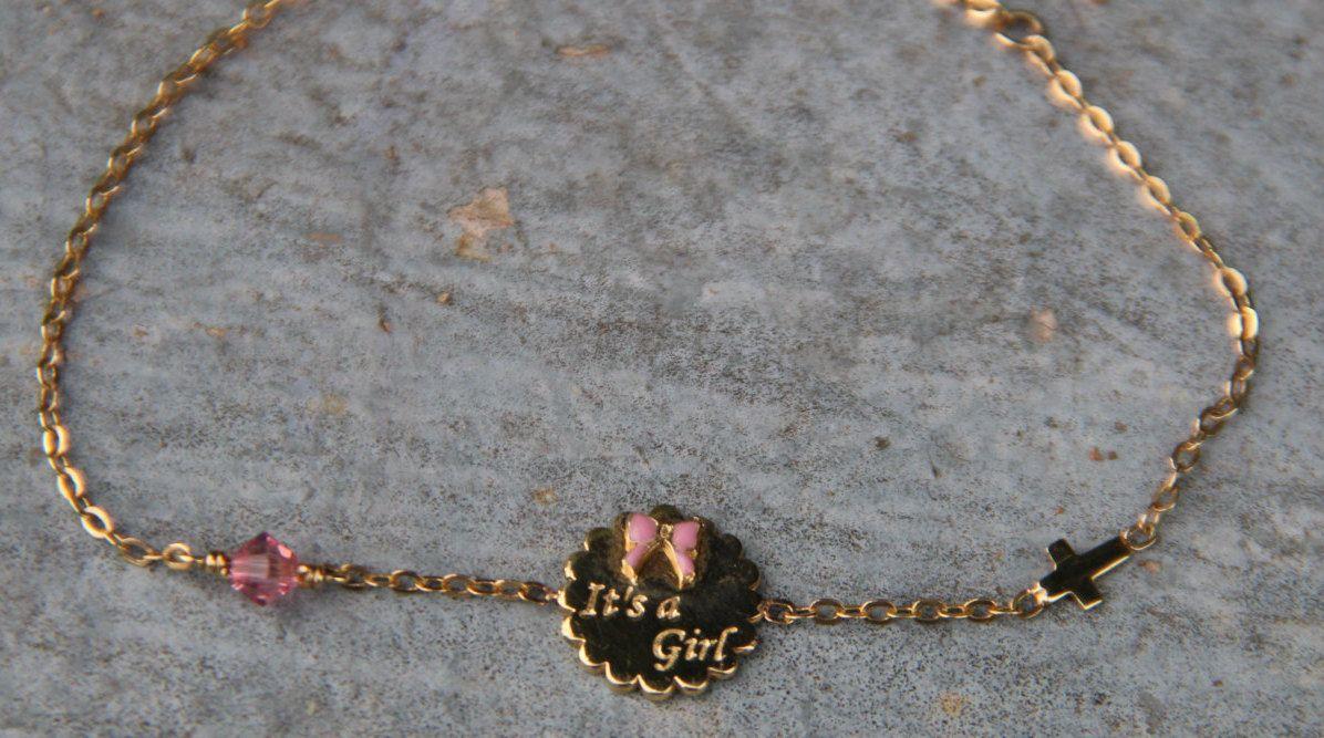 Baby BraceletGold BraceletChain BraceletGood LuckProtection