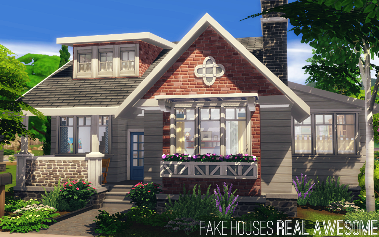 The Beattie (NO CC)• 20x30 lot • §106,062 | §35,926 • 3 bd/2 ba Someone asked if I would make a family home for the new pack, so I tried to use as many Parenthood items as possible in this build. I'm...