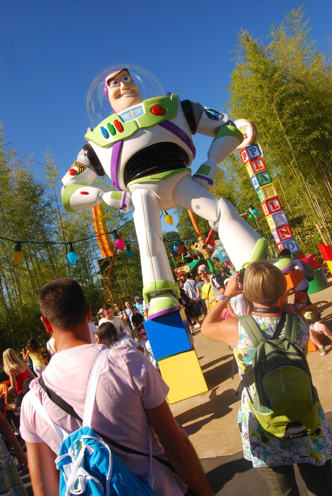 Walt Disney Studios Park Toy Story Playland Buzz Lightyear At Toy