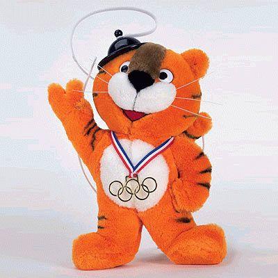 Horodi,mascota de los Juegos Olímpicos Seul 1988,Corea del Sur