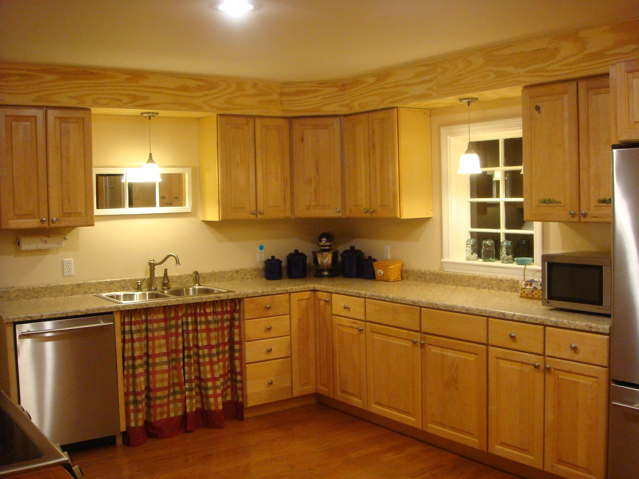 Cabinet Soffit Ideas | Kitchen soffit, Above kitchen ...