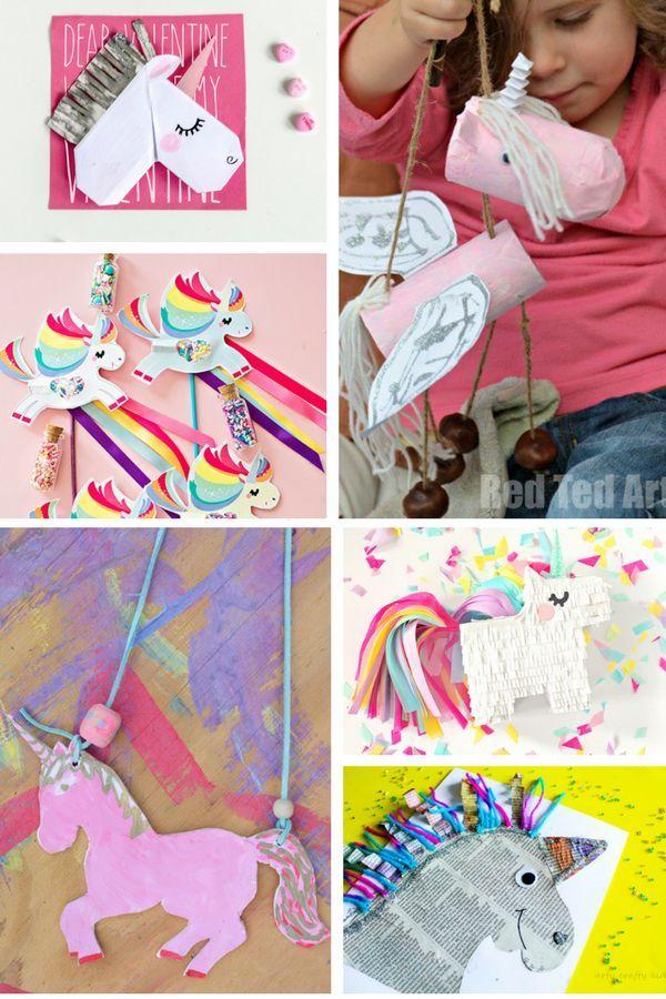 Super Cute Unicorn Crafts | Arty Crafty Kids | Fun & Easy Arts & Crafts! #unicorncrafts