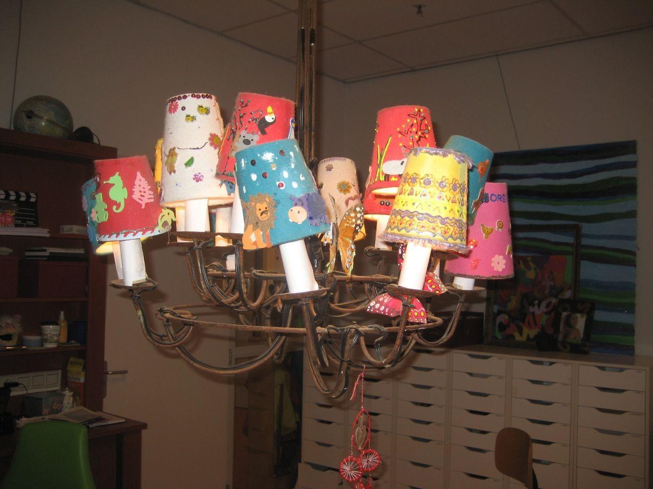 Lampenkap Maken Of Pimpen Kunst Kolder Lampenkap Lampenkappen Lampen Maken