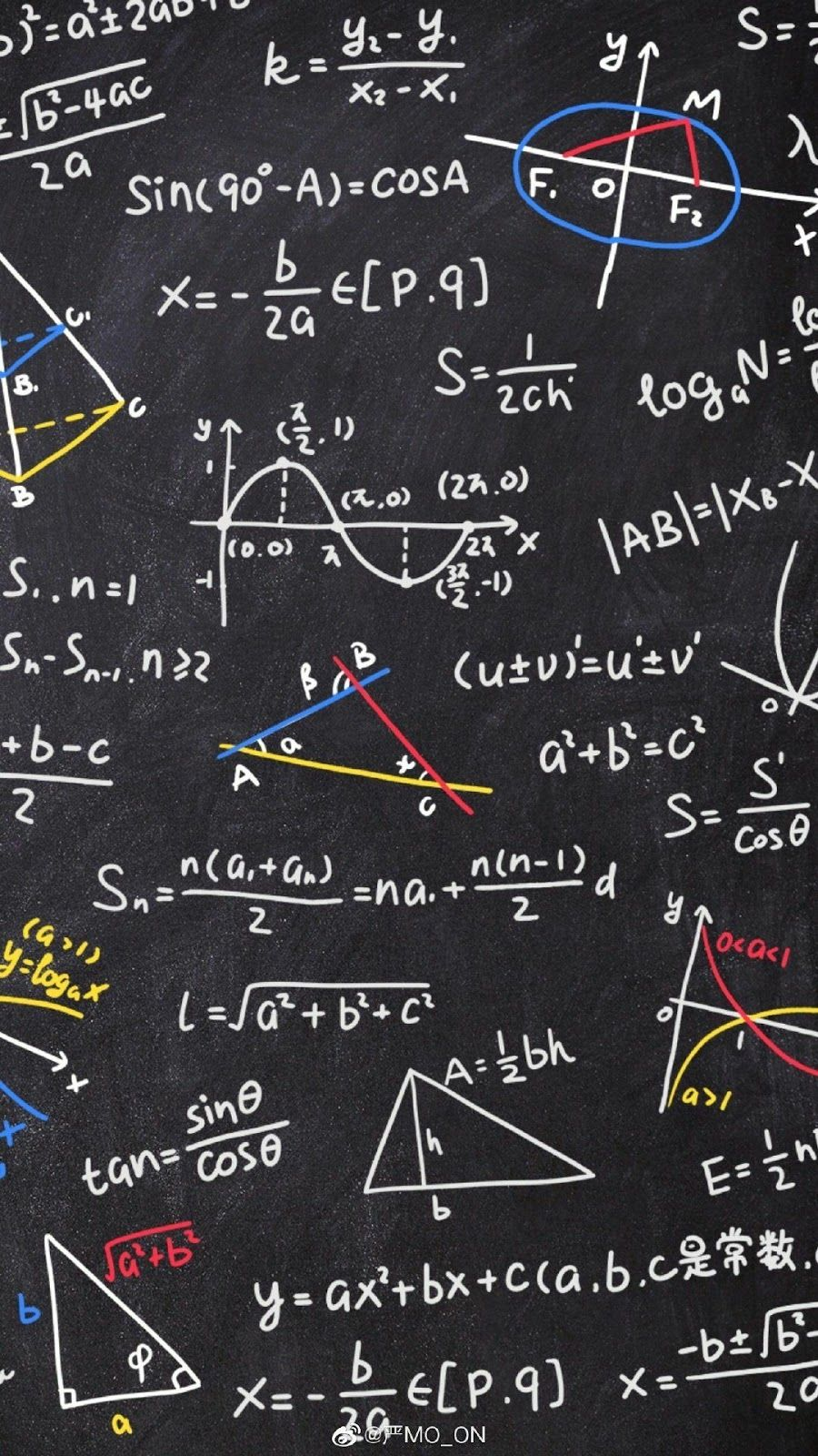Mathematics Status Photo Rumus Kimia Fisika Wallpaper Ponsel