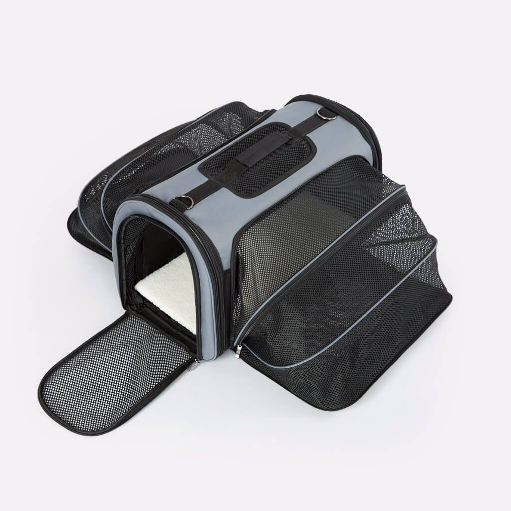 Expandable Soft Sided Pet Carrier [Airline Approved]