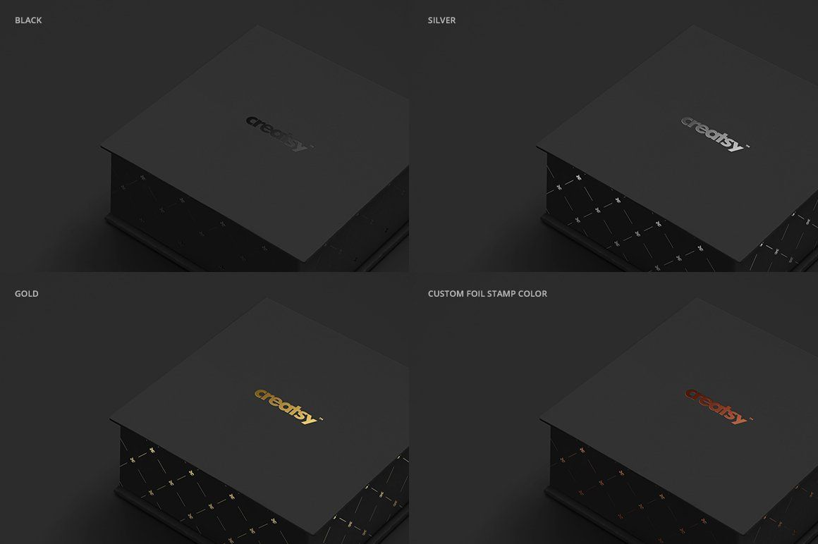 Download Jewelry Box Mockup Set Box Mockup Box Template Mockup Design