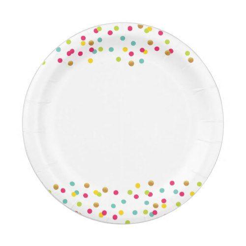 Confetti Plates Confetti - confeti