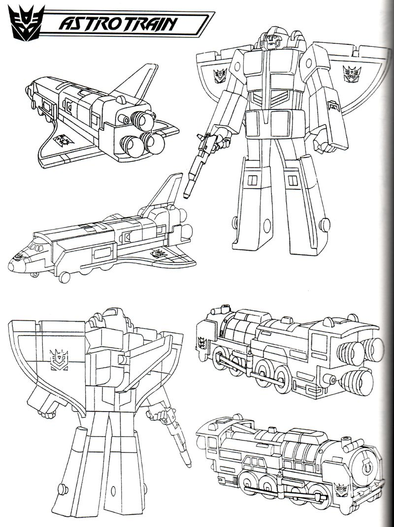 Astrotrain 1 By Thuddleston On Deviantart In 2020 Sketch Book Coloring Pages Line Drawing