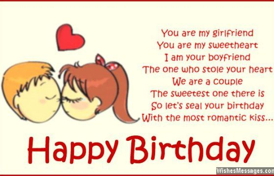 Birthday Card Messages For Your Girlfriend