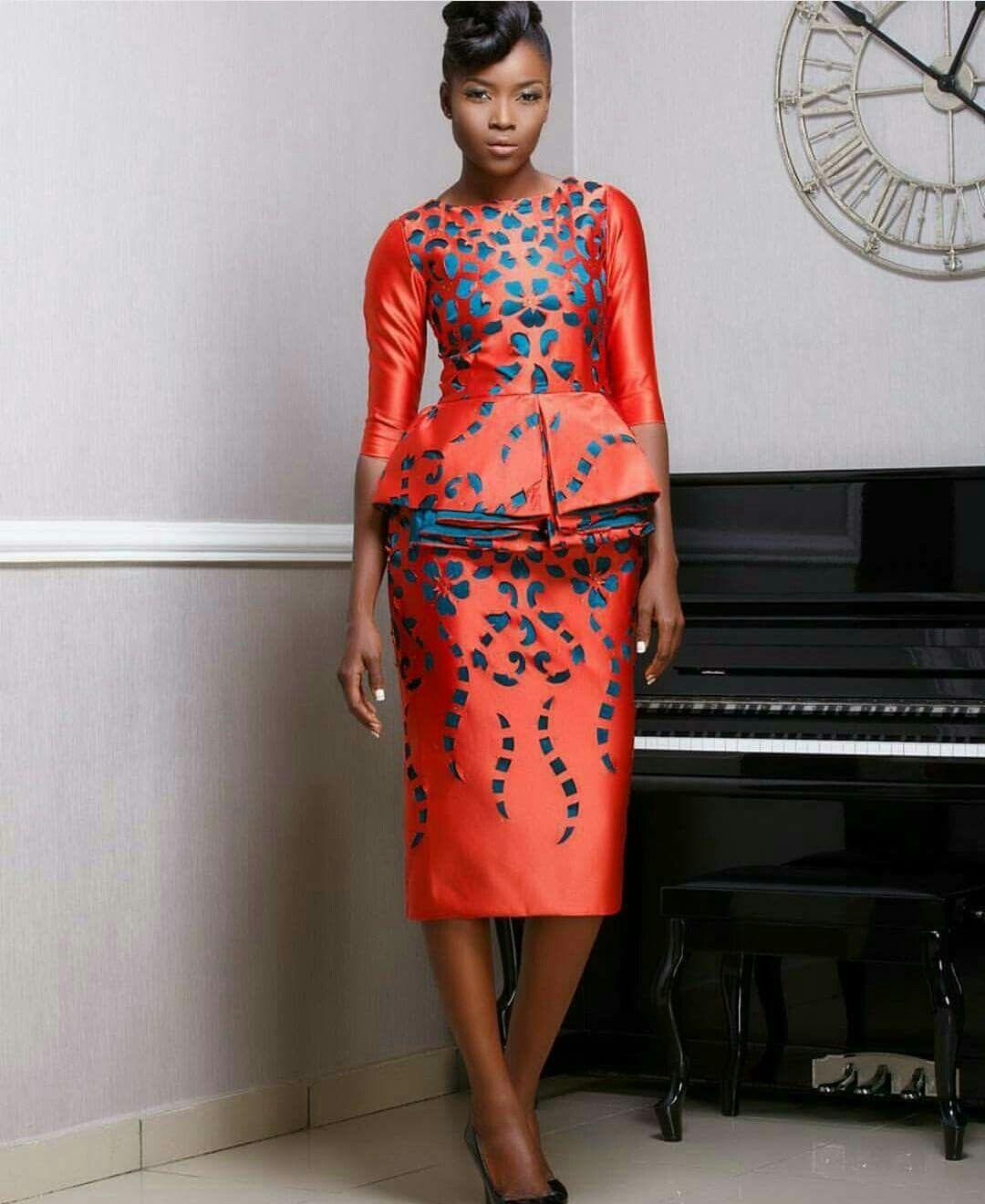 Robe Africaine: ~African Fashion, Ankara, Kitenge, African Women Dresses