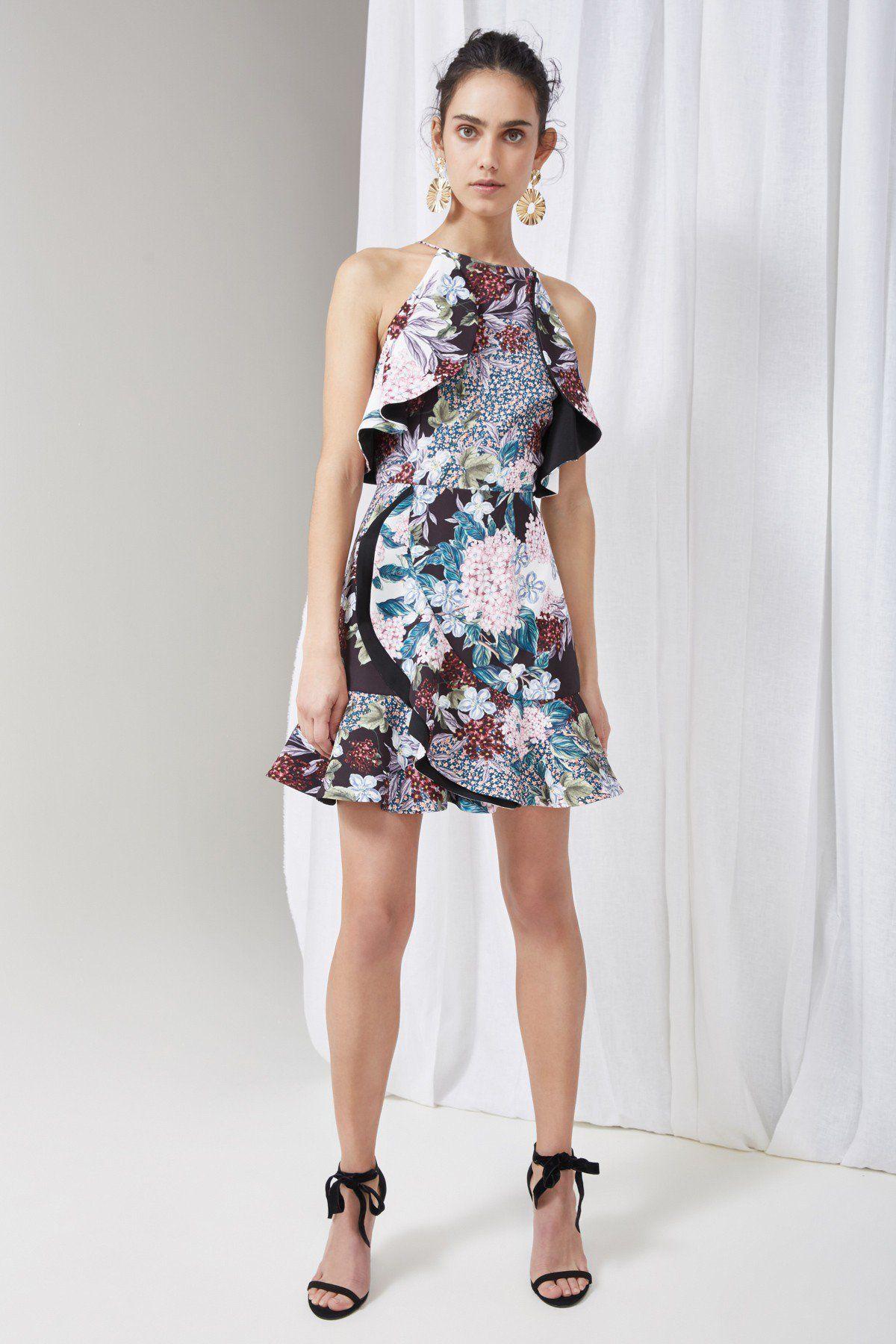 bb3d87e5c1ee5 KEEPSAKE LOST DREAMS DRESS multi floral   Idee guardaroba   Dream ...