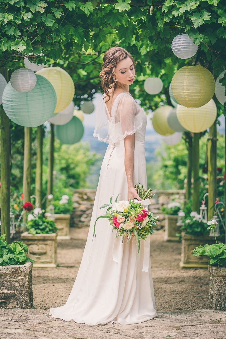 Ethereal coral countryside wedding ideas ethereal summer wedding