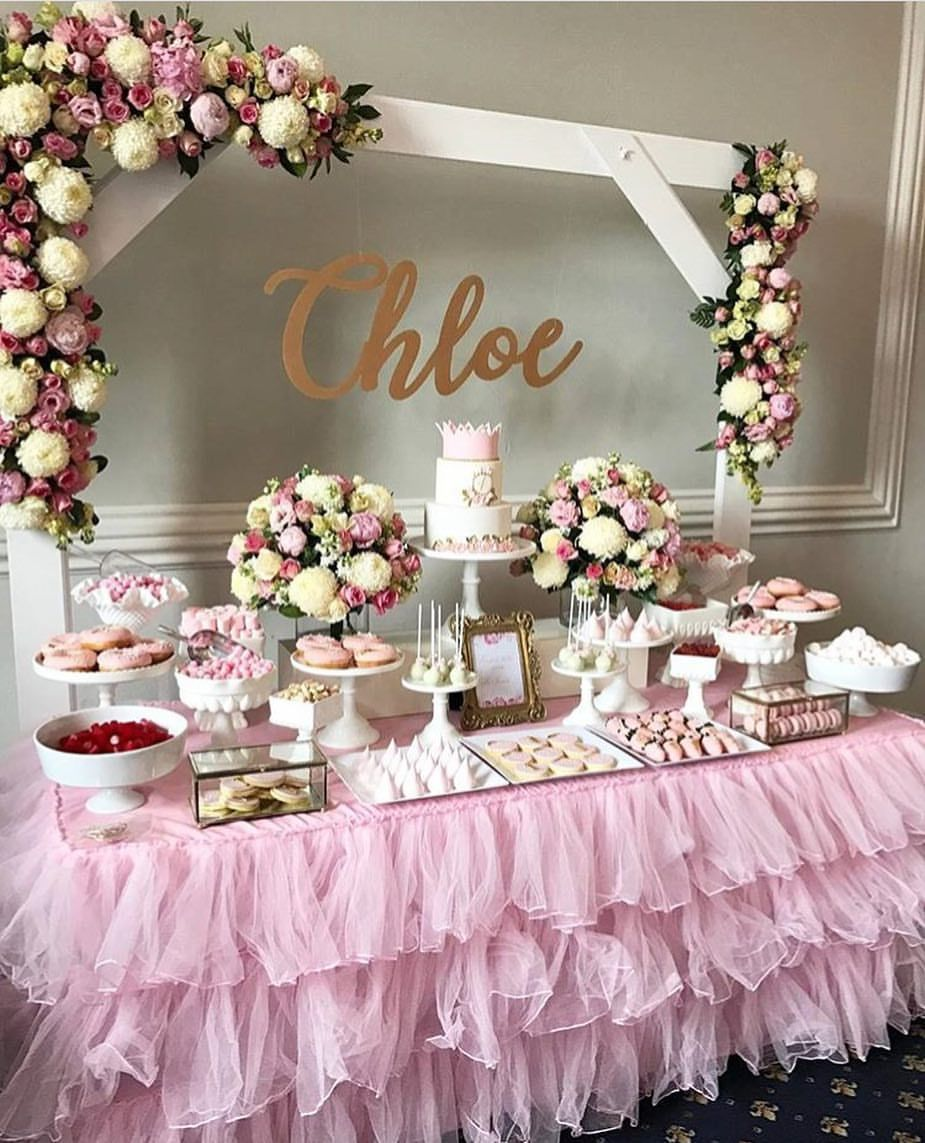 Simple yet elegant #backdrop for this rich dessert bar