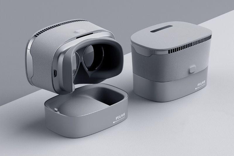 Digital Designer Vr Headsets Wearable Device Vr Headset Vr Device