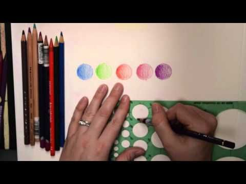 Art Supply Review - Faber Castell Albrecht Dürer Watercolor Pencils + Speedpaint - YouTube