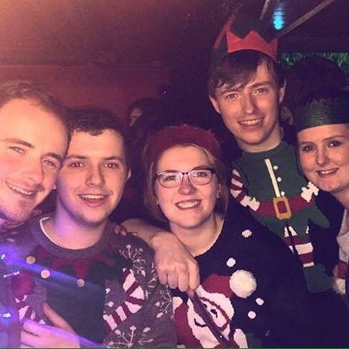 Christmas Day with the peeps!  #Maynooth #ChristmasDay #friends #HouseFam