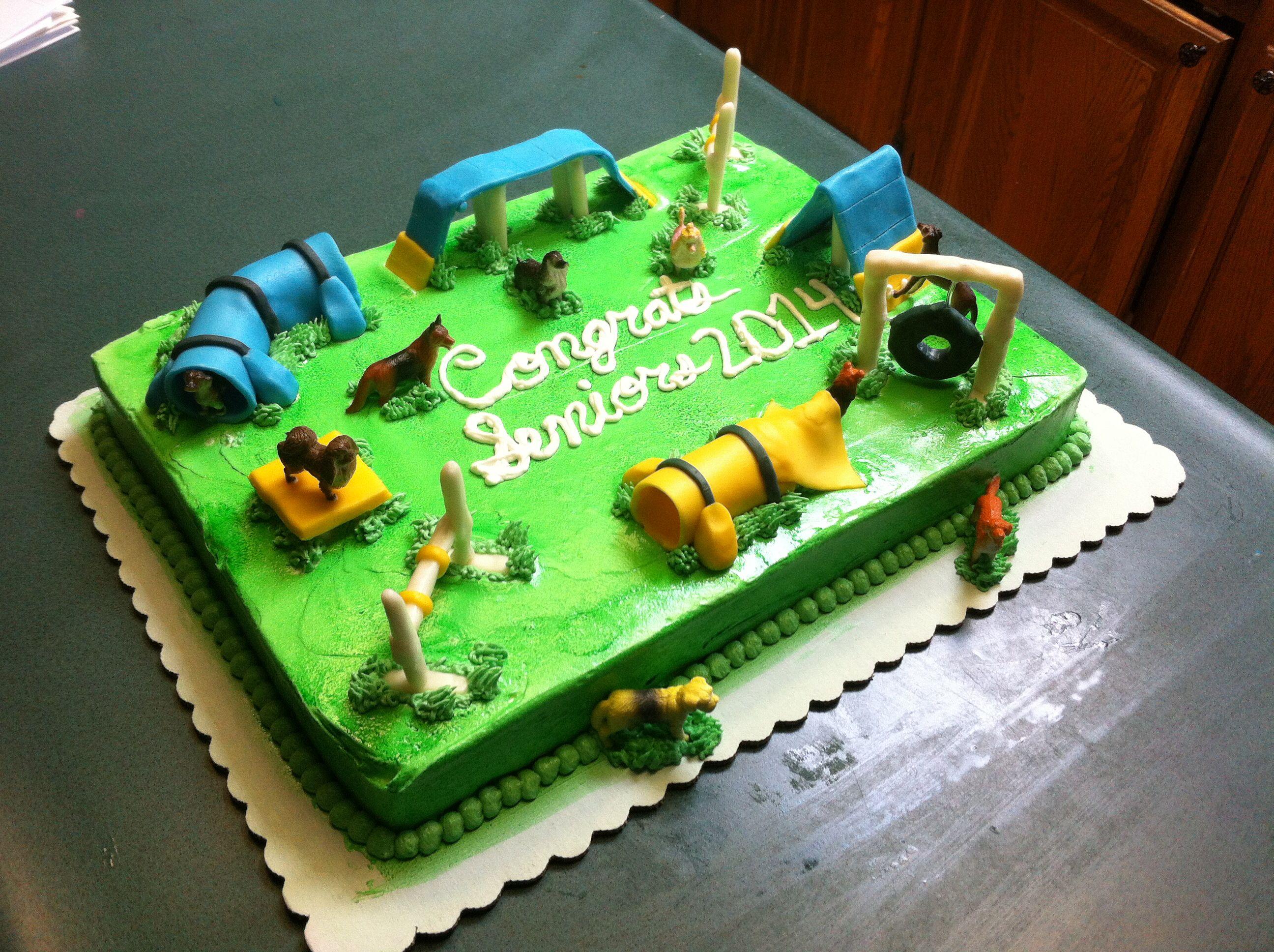 Dog agility cake! My cakes:) Pinterest Dog agility ...