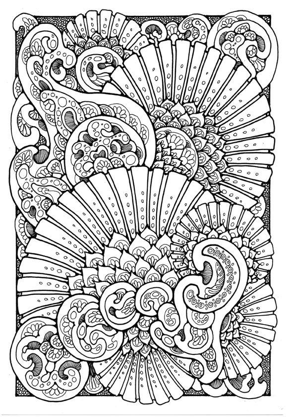 coloring page for adults Kleuren voor volwassenen Färbung für ...