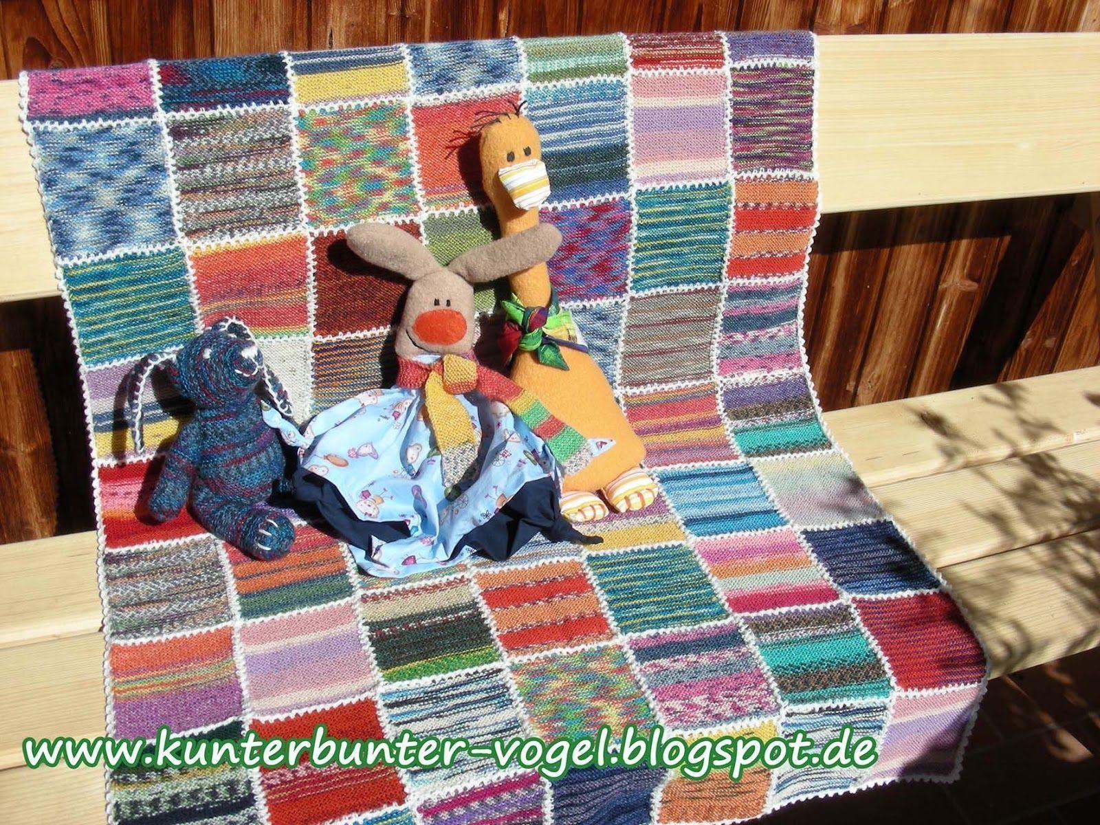 Photo of Verwendete Materialien ca. 400 g Sockenwollreste (75% Schurwolle, 25% Polyam ……