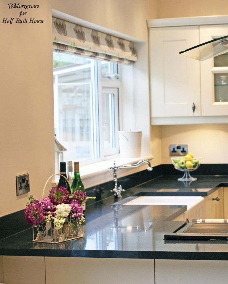 Cream Kitchen Black Worktops: HBH Eastbourne: An English Shaker Cream Kitchen With A