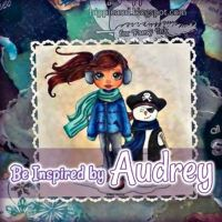 Audreys Inspiration: Fable and the Snow Pirate  A Mixed Media Project #digitalstamps #coloringpages #fairies