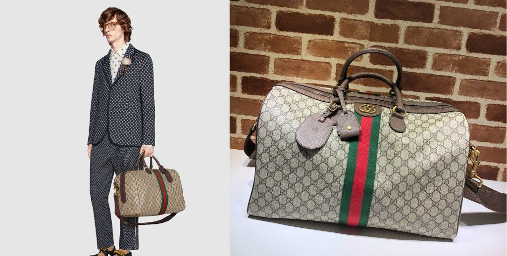 ea6bf029d639 Gucci Ophidia GG medium carry-on duffle Bag 547953 | Luxury Mens ...