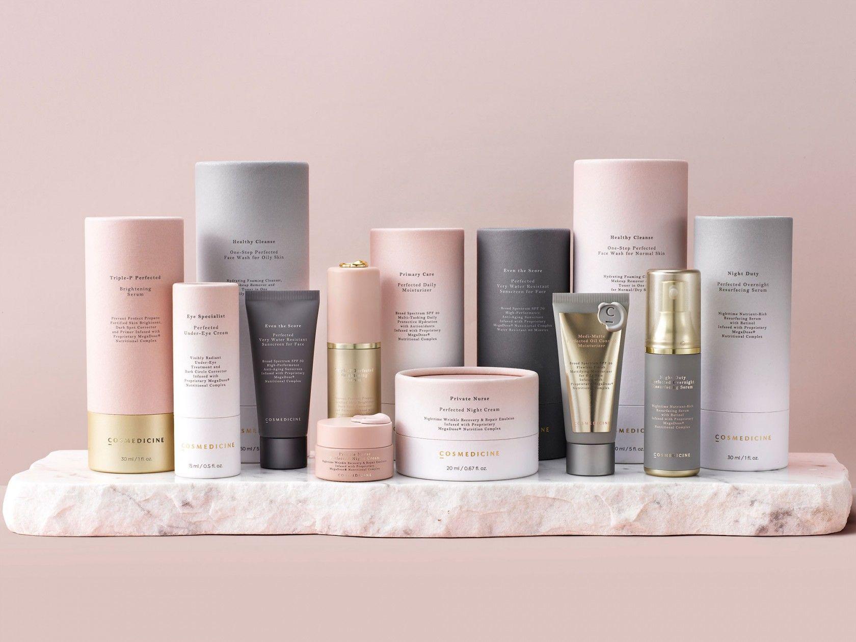 COSMEDICINE Cosmetic packaging, Cosmetic packaging