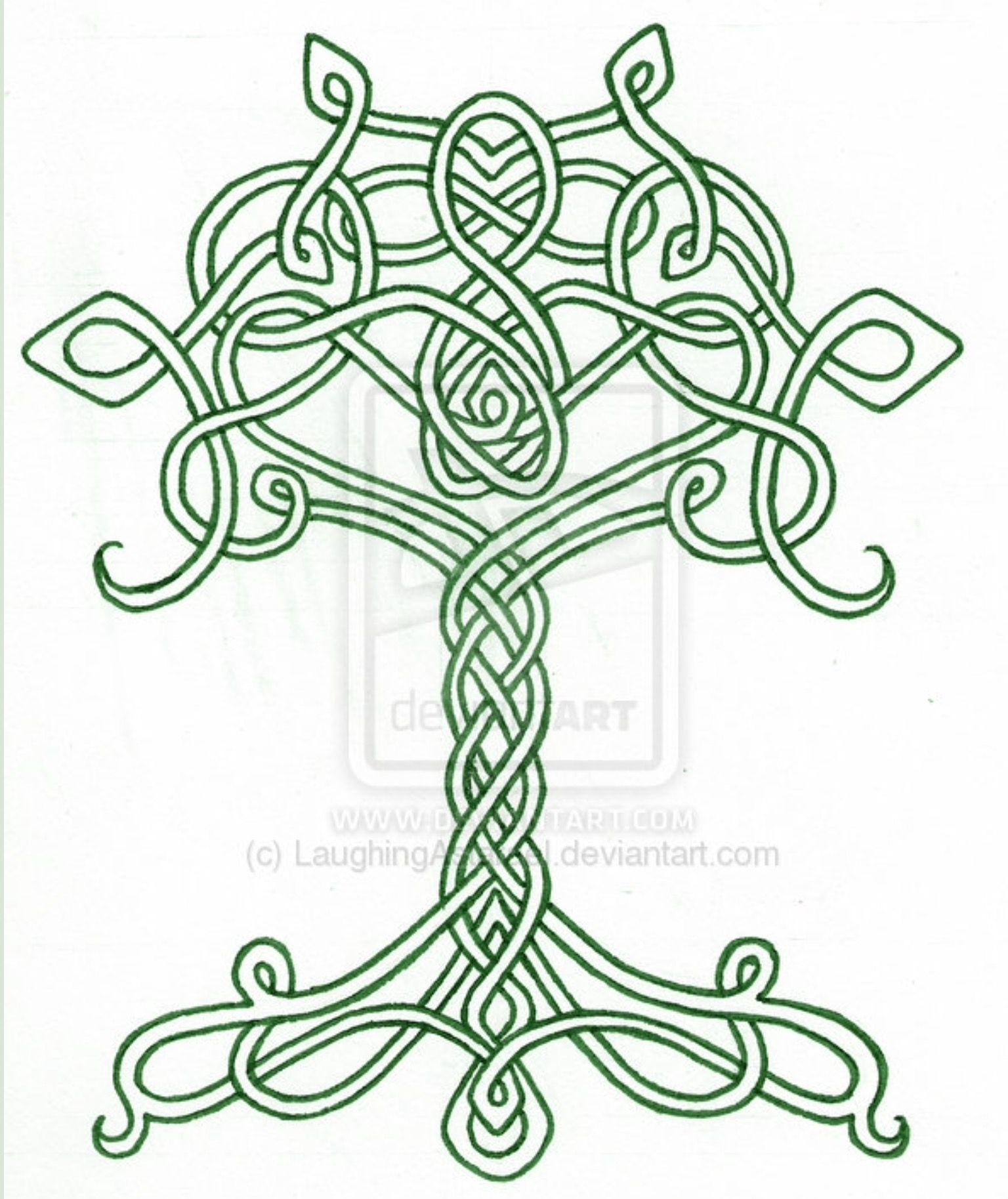 Tatouage arbre de vie celtique galerie tatouage - Signification arbre de vie ...