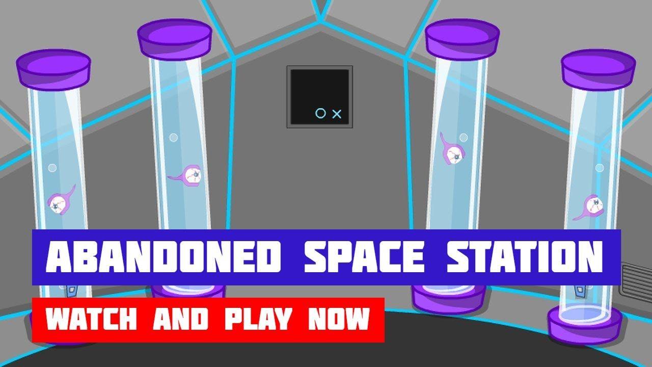 Abandoned Space Station Escape Game Walkthrough