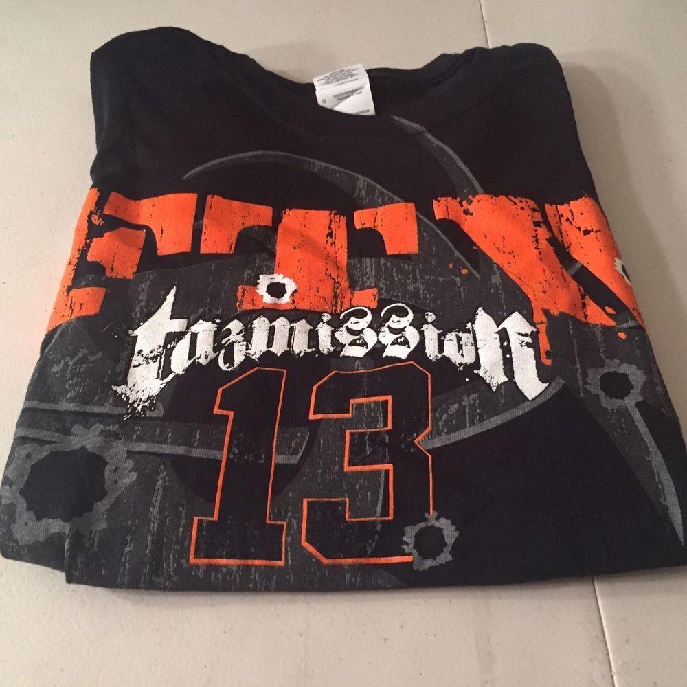 Black t shirt ebay - Tna Wrestling Mens Black T Shirt Taz Ftw 13 Ol Fashion Beatdown Sz