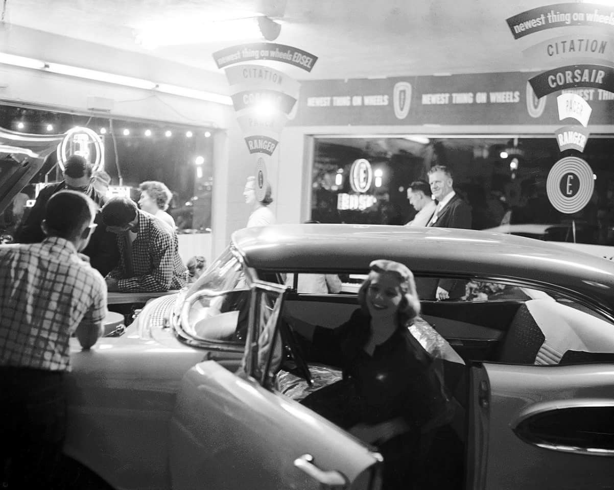 Pin by Bryan Flood on Vintage Automobile Dealerships