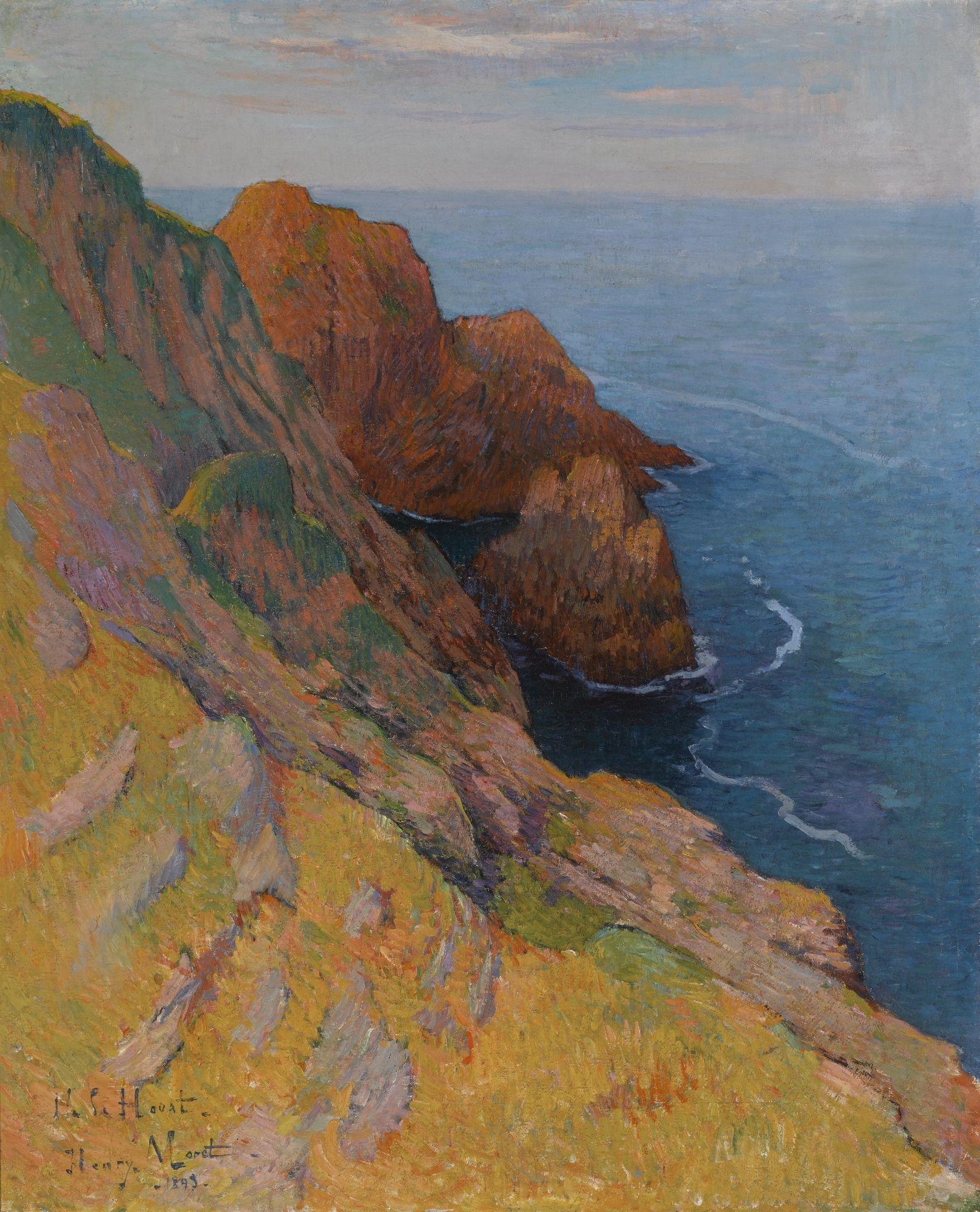 moret henry the le de houat bri | landscape | sotheby's hk0702lot95hgben |  Landscape paintings, Monet art, Landscape