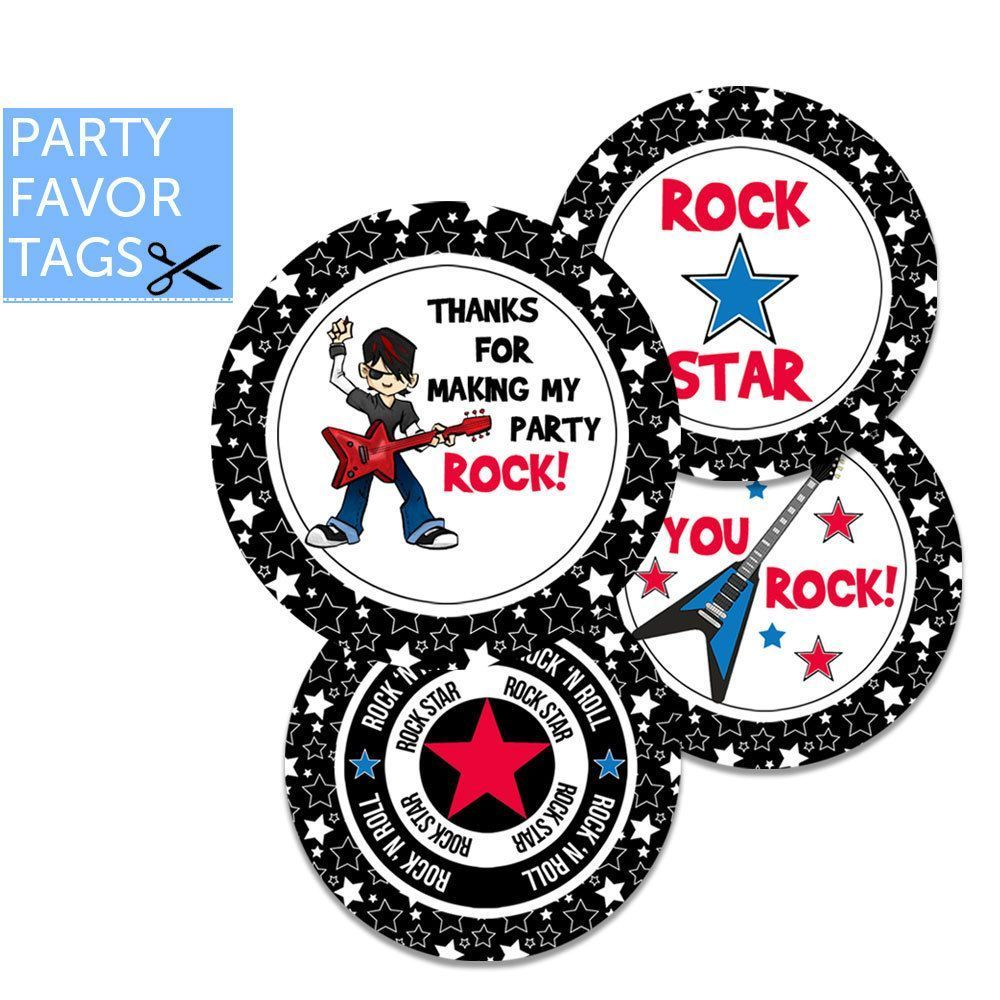 Rock Star Party Favor Tags - Rock Star Tags - Instant Download #rockstarparty Rock Star Party Favor Tags - Rock Star Tags, Rock Star Favor Tags, Rockstar Boy by partypeanut #rockstarparty Rock Star Party Favor Tags - Rock Star Tags - Instant Download #rockstarparty Rock Star Party Favor Tags - Rock Star Tags, Rock Star Favor Tags, Rockstar Boy by partypeanut #rockstarparty