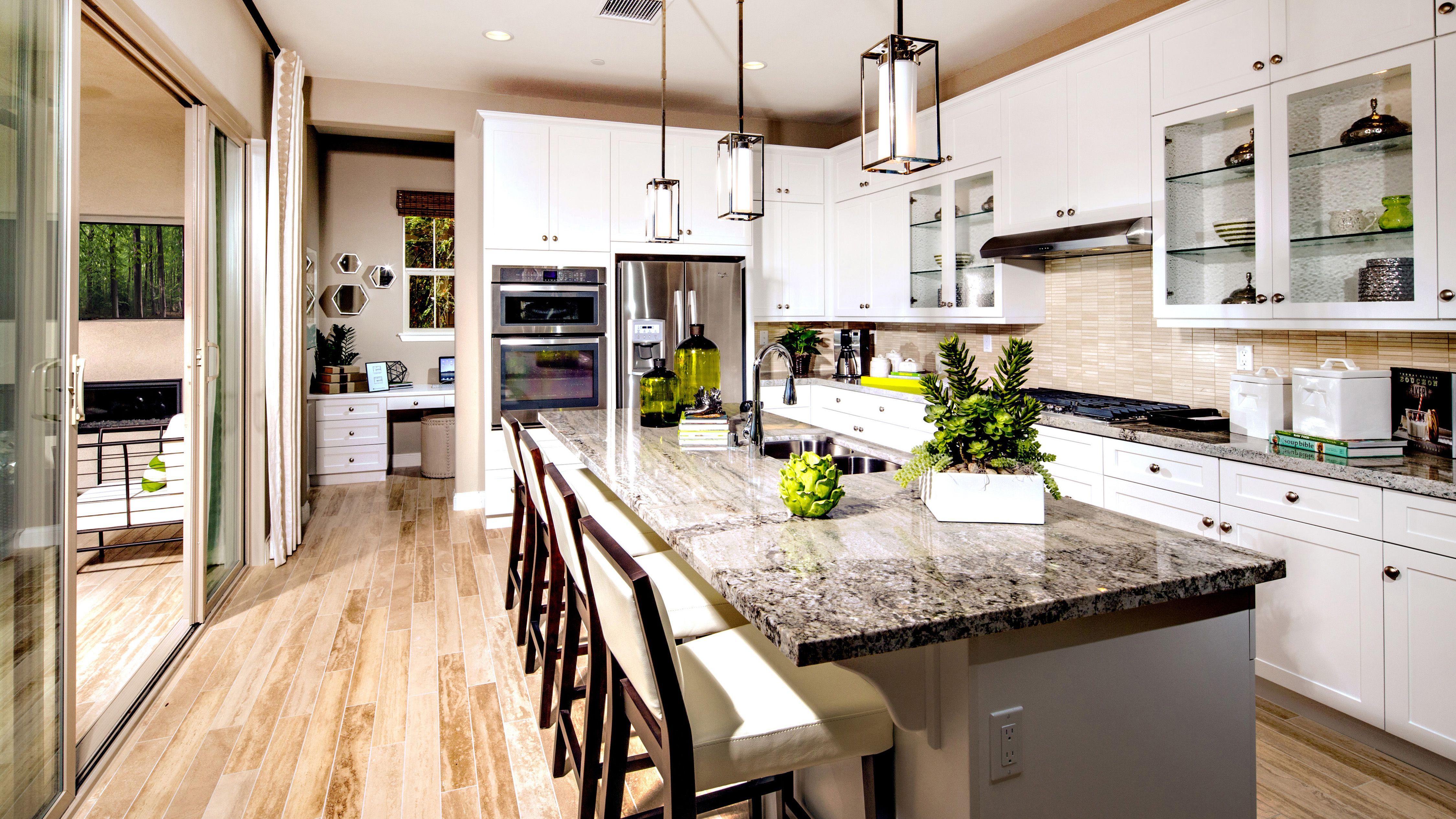 Would You Believe Your Eyes If You Had A Kitchen This Size Montarra At Vila Borba Plan 4 New Homes For Sale New Homes Beautiful Kitchens
