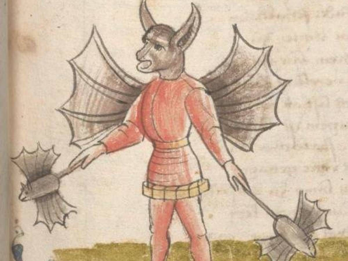 Small Crop Of Weird Medieval Art